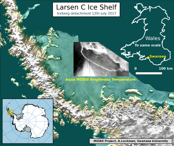 Image: Larsen C ice shelf