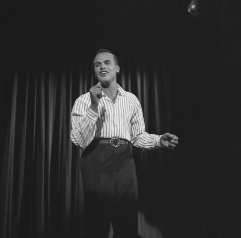 Image: Harry Belafonte on the Ed Sullivan show