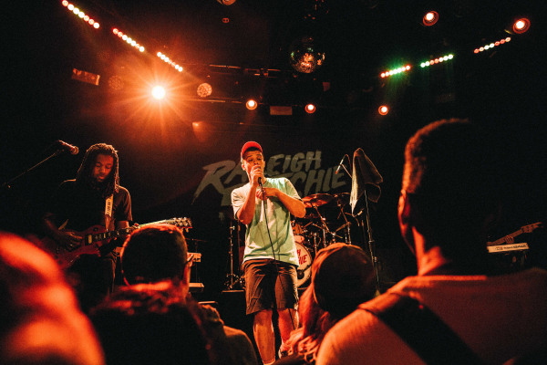 Image: Raleigh Ritchie performs at Bowery Ballroom in NYC