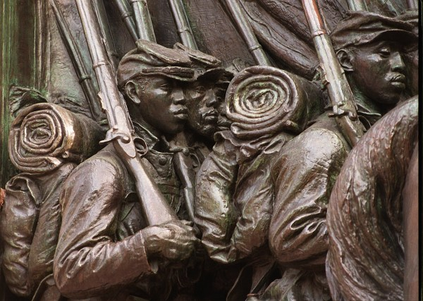Memorial To Robert Gould Shaw And 54th Regiment