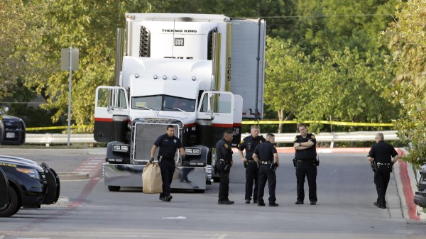 Image: People found dead in tractor-trailer