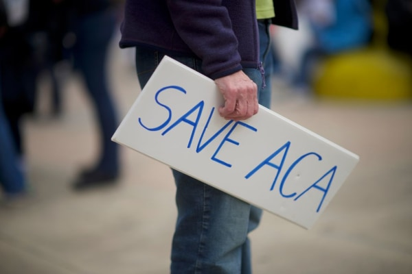 Rallies Held Across The Country To Protect Obama's Affordable Health Care Act