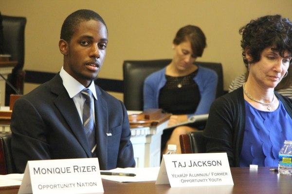 Image: Taj Jackson on Panel
