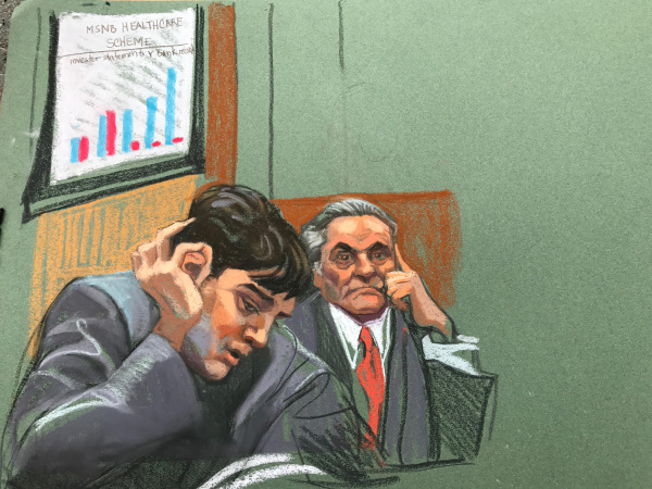 Image: Martin Shkreli closing arguments