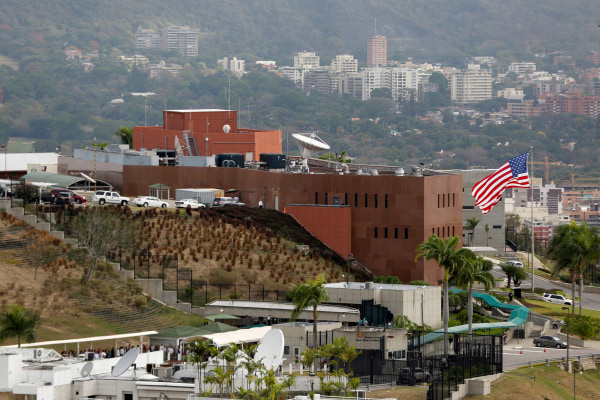 Image: U.S. Embassy Building in Caracas