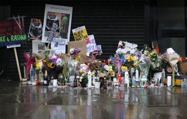 Image: Rashan Charles tribute