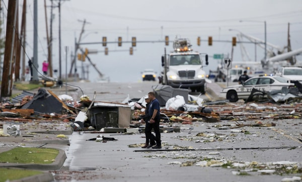Tornado Strikes Tulsa Causing Dozens Of Injuries And