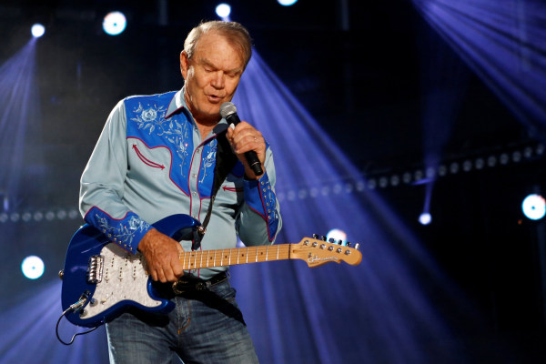 Image: Glen Campbell performs during CMA Music Festival in Nashville