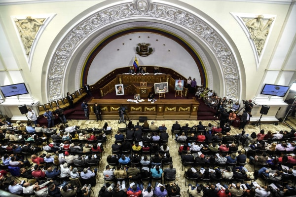 Image: VENEZUELA-CRISIS-CONSTITUENT-ASSEMBLY