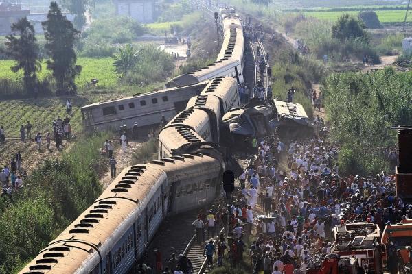 Image: Alexandria fatal train crash
