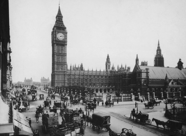 Image: The Houses of Parliament and Big Ben