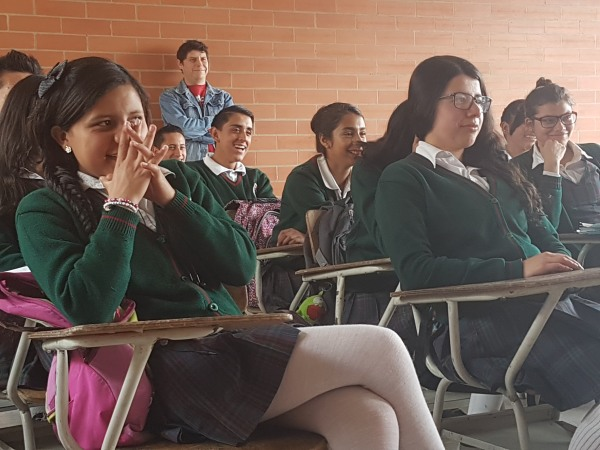 Image: Students in Colombia