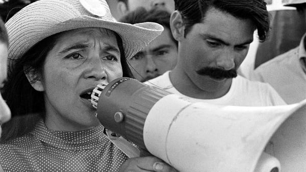 Image: Dorlores Huerta, United Farm Workers
