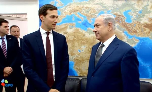Image: Kushner meets with Netanyahu in Jerusalem