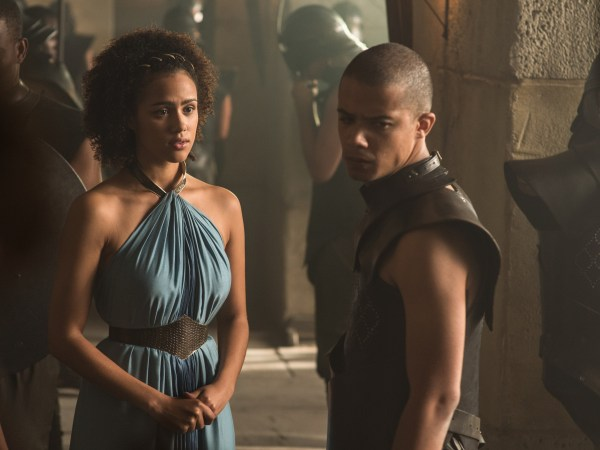 Image: Jacob Anderson plays Grey Worm in Game of Thrones