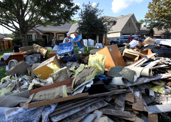 Image: Hurricane Harvey Cleanup