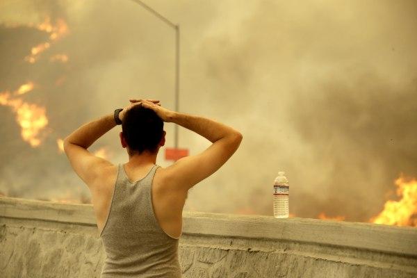 Image: La Tuna fire near Los Angeles