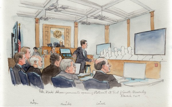 Image: Robert Menendez trial