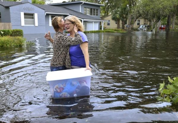 Image: Jacksonville flooding