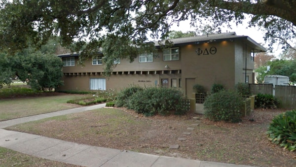 Image: Phi Delta Theta fraternity at LSU
