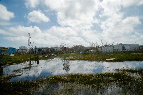 Image: Barbuda after Irma