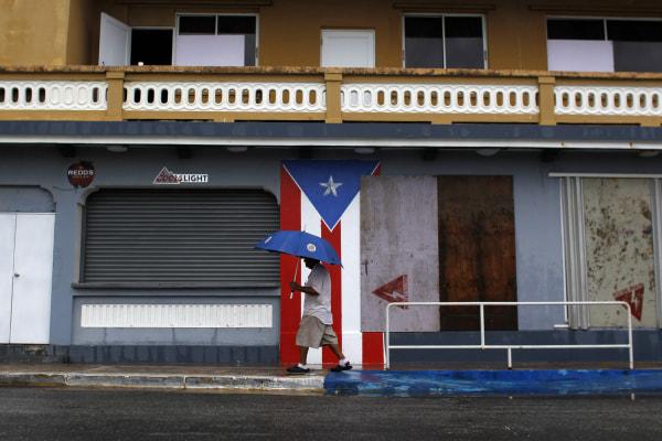 Image: PUERTORICO-WEATHER-STORM-CARIBBEAN