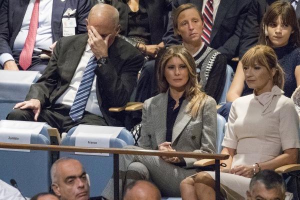 Image: John Kelly, Melania Trump