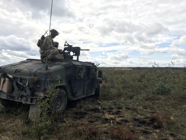 Image: U.S. forces in Lithuania