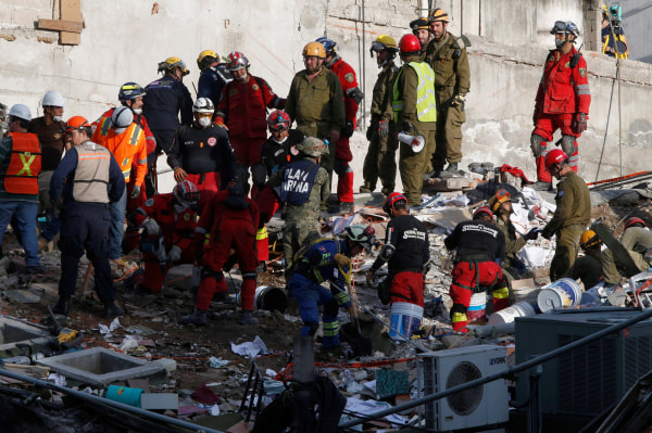 Image: Mexico Earthquake Aftermath