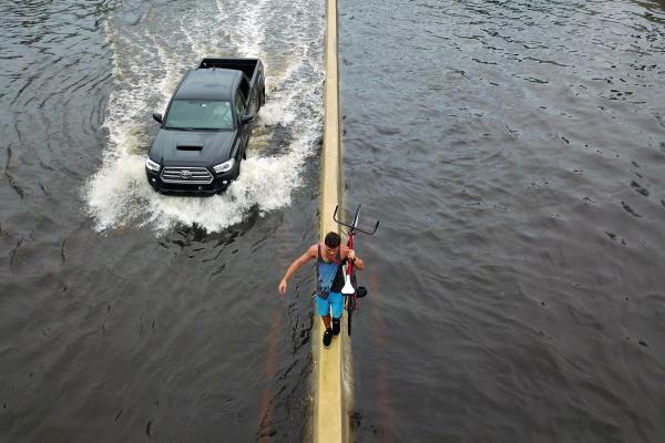 Image: TOPSHOT-PUERTORICO-CARIBBEAN-WEATHER-HURRICANE