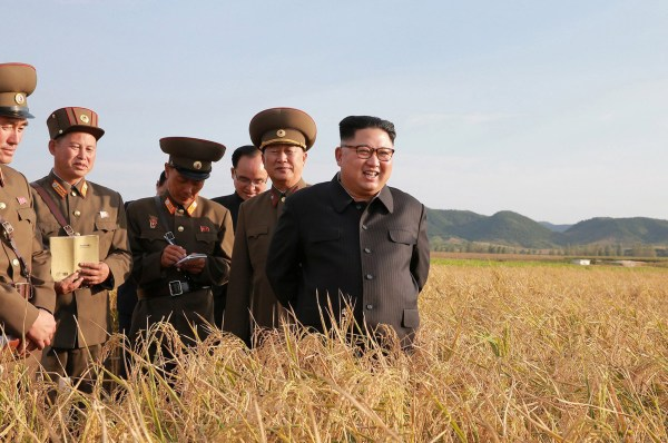 Image: North Korean leader Kim Jong Un visits a Farm No. 1116 of KPA Unit 810