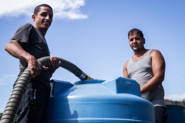 Image: Water in Utuando Puerto Rico