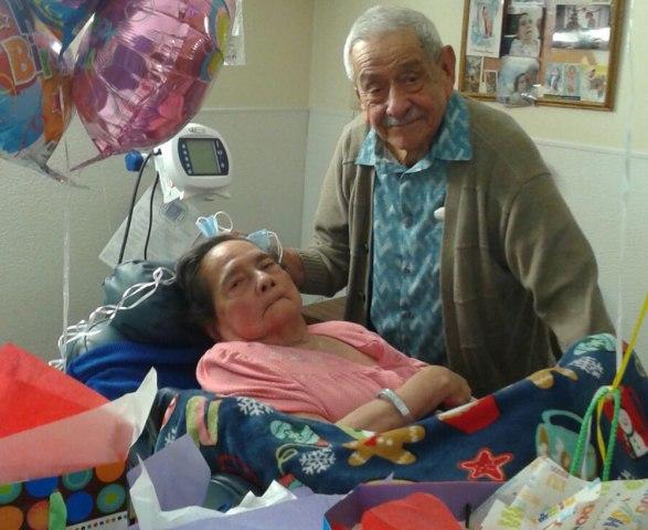 Image: Cecilia Franco and her husband Miguel Antonio Franco