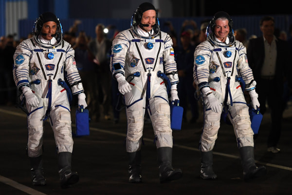 Image: ISS Astronauts