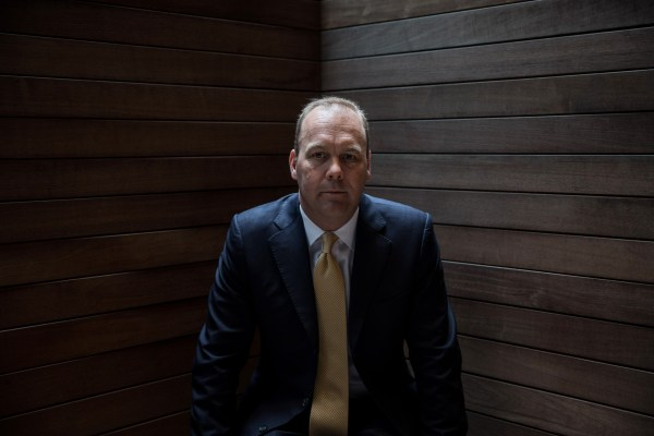 Image: Rick Gates, a protege and junior partner of Paul Manafort, Donald Trump's former campaign manager, in New York, April 24, 2017.