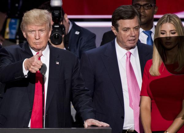Image: Donald Trump and Paul Manafort