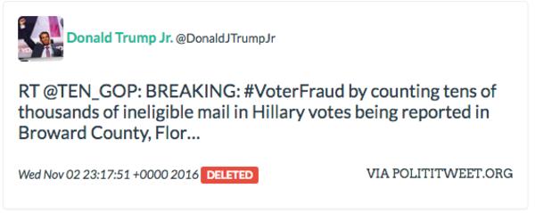 Donald Trump JR retweets 10_gop another time