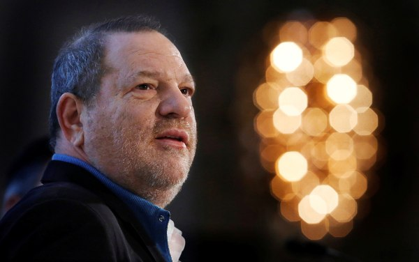 Image: Harvey Weinstein speaks at the UBS 40th Annual Global Media and Communications Conference in New York