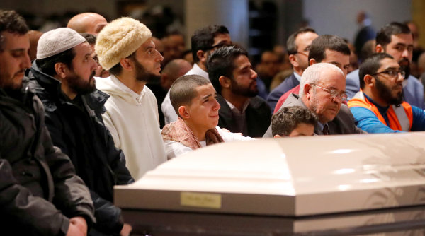 Image: Quebec mosque shooting funeral