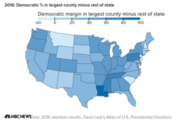 Viewed As A Whole The Numbers Suggest A Common Urban Political Culture Is Rising Out Of The Country S Big Cities That Overrides The Nation S Regional