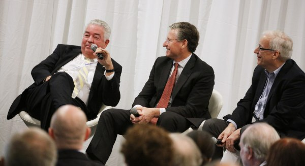 Image: Sinclair Broadcast Group's David Smith speaks at panel