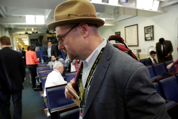 Image: Glenn Thrush, chief White House political correspondent for the The New York Times