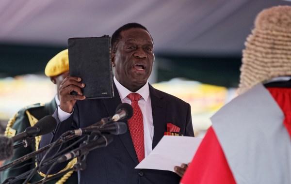 Image: Emmerson Mnangagwa