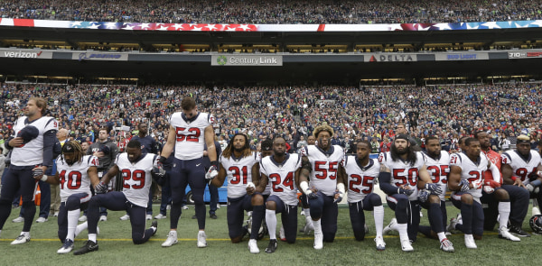 Image: NFL Players Kneel