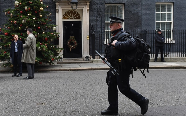 Image: 10 Downing Street in central London