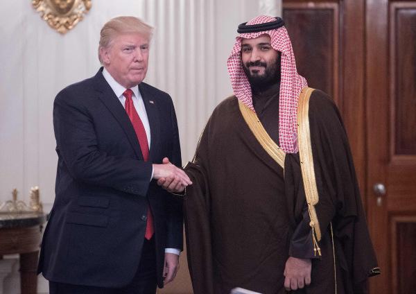 Image: Trump and Salman