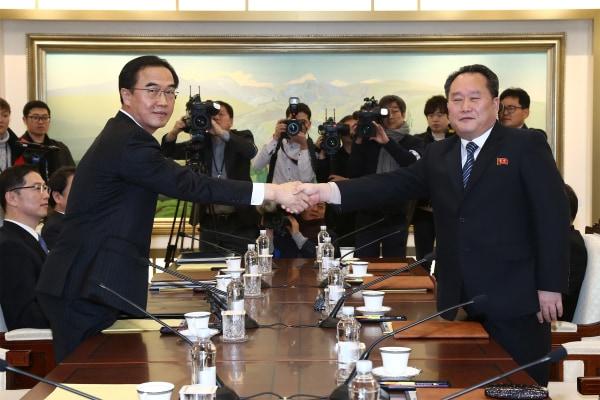 Image: South Korean Unification Ministry stills / Inter-Korean talks