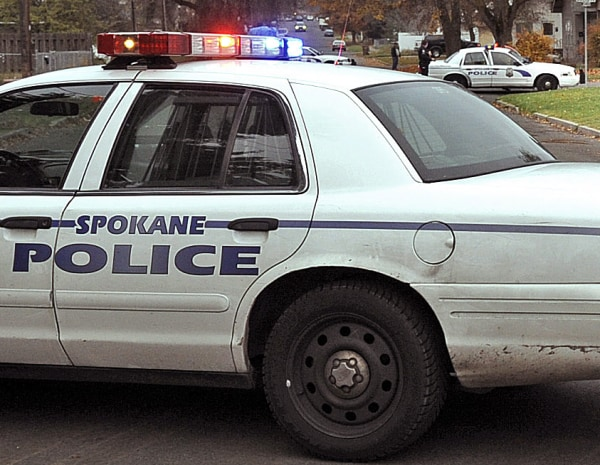 Image: Spokane police car