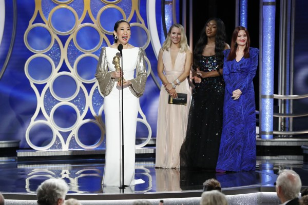 Image: Sandra Oh, 76th Annual Golden Globe Awards - Show