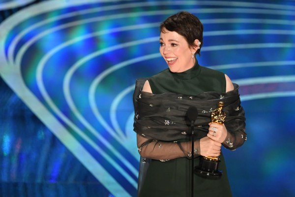 Image: Olivia Coleman Oscars
